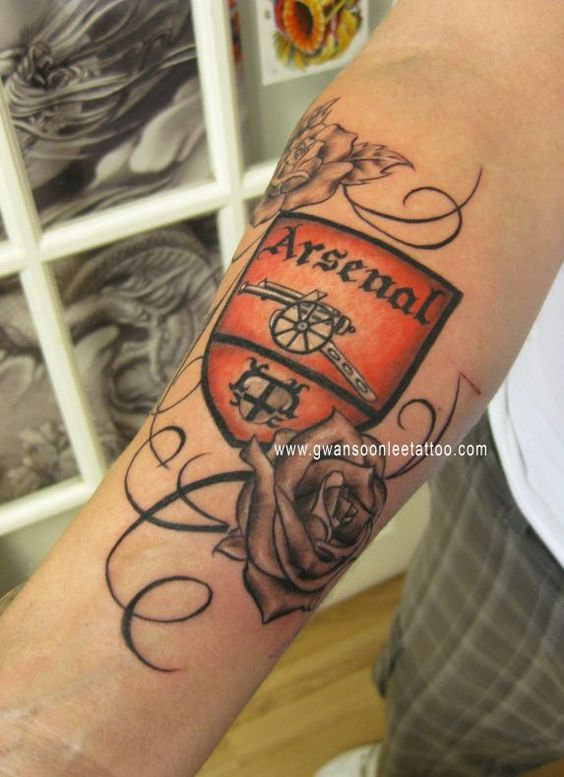 Arsenal Tattoo Ideas Designs Images Sleeve Arm Quotes Football