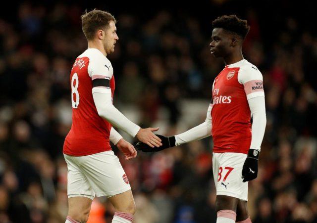 Arsenal Team Under-18s 2018-19 Bukayo Saka