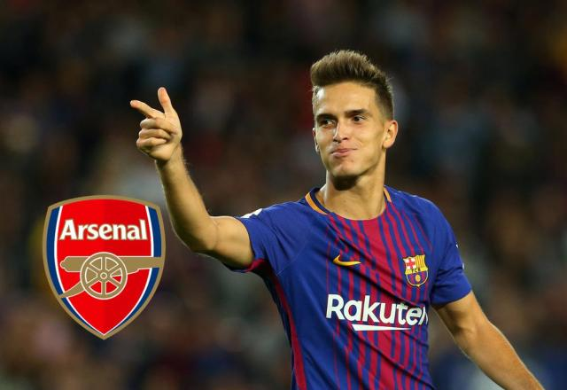 Arsenal current loanees players - Denis Suarez loaned out from FC Barcelona