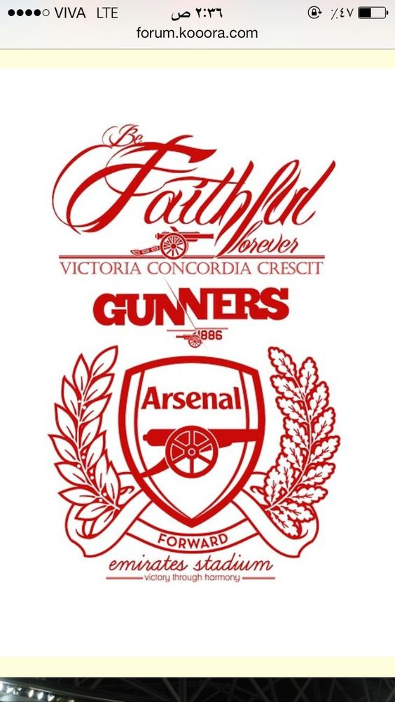 Designs For Arsenal Tattoos