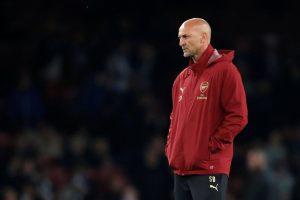 Arsenal first team assistant coach Steve Bould