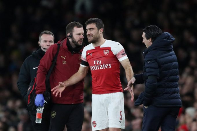 Arsenal Dealt Massive Blow As Defender's Injury Resurfaces