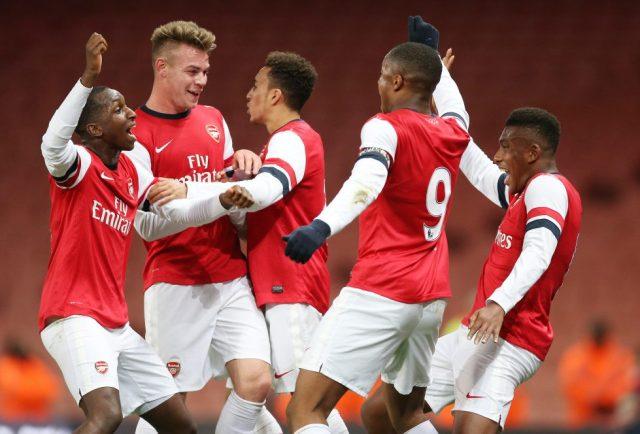 Arsenal Developmental Squad Trophies