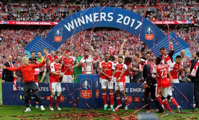 Arsenal FA Cup 2016-17