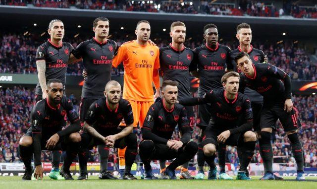 Arsenal First Team 2018-19
