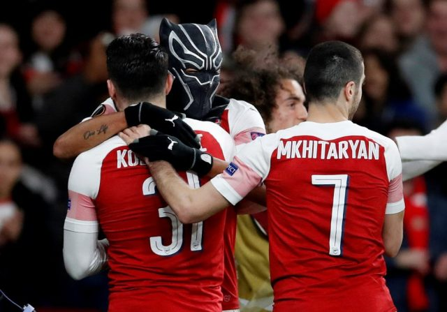 Arsenal Games Pictures Pierre-Emerick Aubameyang