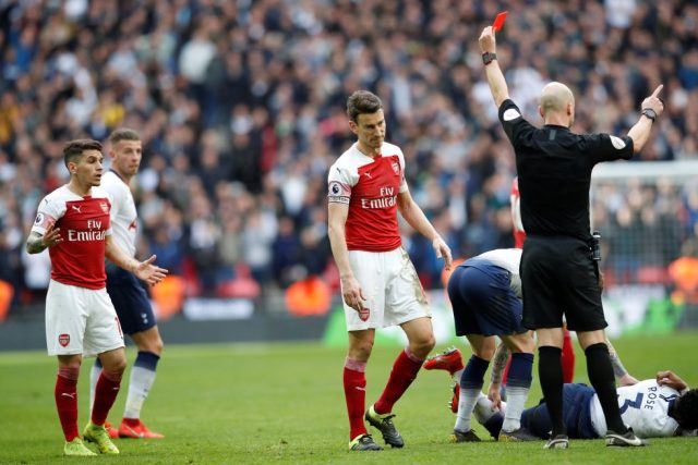 Arsenal Games With The Most Red Cards