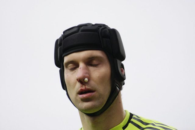 Arsenal Players With Face Masks