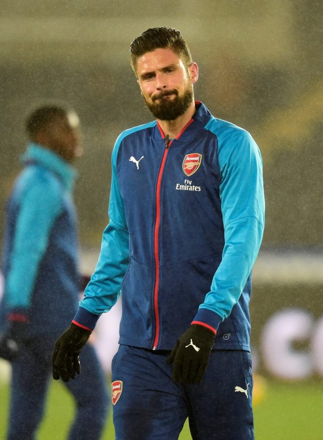 Arsenal Top Scorers Of All Time Olivier Giroud