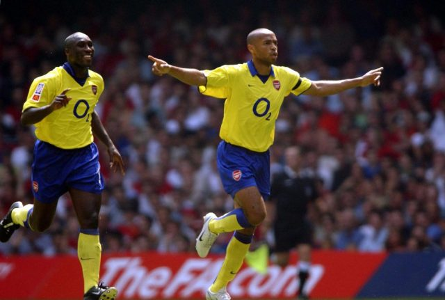 Arsenal Top Scorers Of All Time Thierry Henry