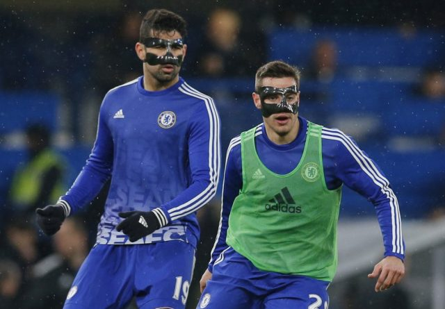Players With Protective Masks