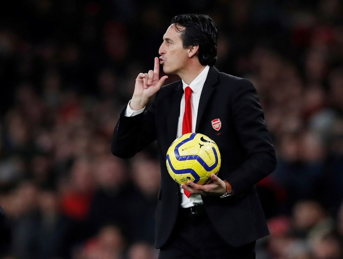 Unai Emery Confident Of Arsenal Support Even Now