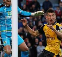 Laurent Koscielny v Burnley, last minute winner
