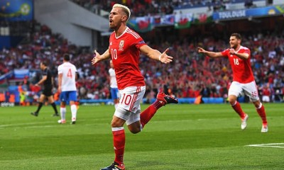Welsh international Aaron Ramsey