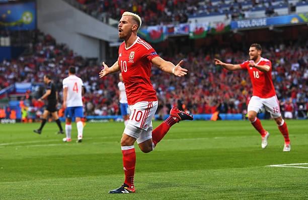 Welsh international Aaron Ramsey