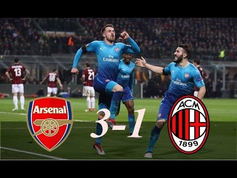 Watch: Arsenal 3 Vs 1 AC Milan Video Highlights