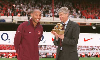 ARSENE WENGER AND THIERY HENRY