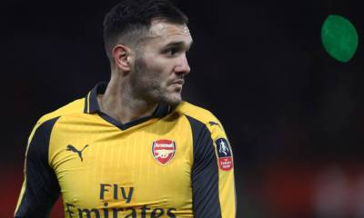 LUCAS PEREZ WHEN AT ARSENAL