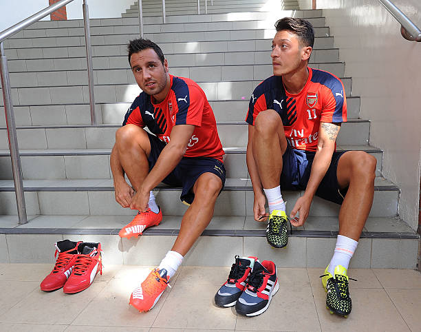 Ozil Sends Cazorla A Special Message After Midfielder Leaves Club
