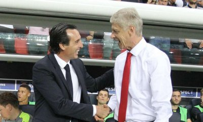 Arsene Wenger and Unai Emery