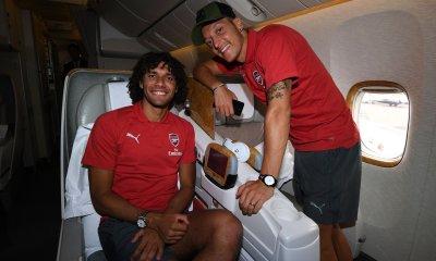 Arsenal Squad Travels To Singapore
