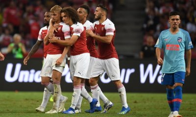 Atletico Madrid Vs Arsenal In Singapore