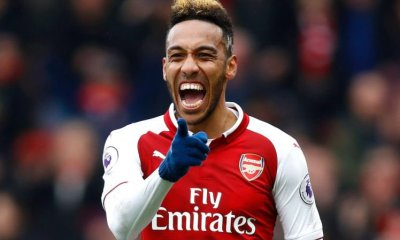 Arsenal striker Aubameyang