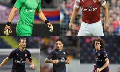 Arsenal's new five signings