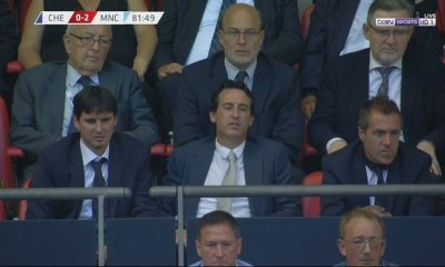 Unai Emery Attends FA Community Shield