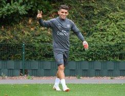 Lucas Torreira in Arsenal Training