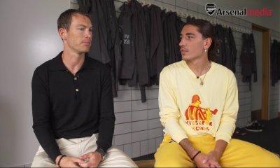 Stephan Lichtsteiner and Hector Bellerin