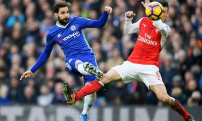 Chelsea star Cesc Fabregas VS Arsenal