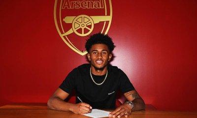 Arsenal star Reiss Nelson