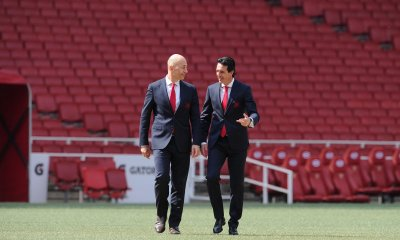 Ivan Gazidis and Unai Emery