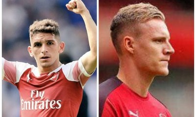 Bernd Leno and Lucas Torreira