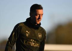 ST ALBANS, ENGLAND - NOVEMBER 02: Mesut Ozil of Arsenal during a training session at London Colney on November 2, 2018 in St Albans, England. (Photo by Stuart MacFarlane/Arsenal FC via Getty Images) *** Local Caption *** Mesut Ozil;Oezil