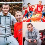 Jack Wilshere pays surprise visit to boy fighting muscular dystrophy