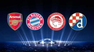 Gunners find out opponents for Champions League group stages