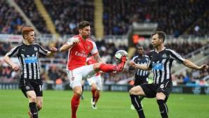 Giroud looking to continue his scoring exploits against the Toon