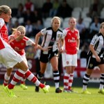 Arsenal Ladies reach FA Cup semi-final after penalty shoot-out win