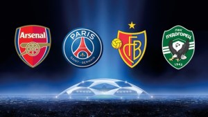 Arsenal face Champions League challenge from France, Switzerland and Bulgaria