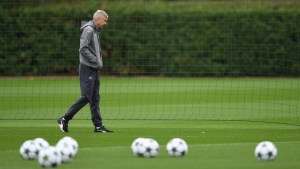 Arsene expecting tough test from FC Basel (Photo by Mike Hewitt/Getty Images)
