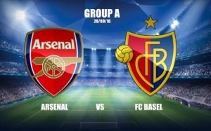 Arsenal aiming for 1st group win tonight against FC Basel