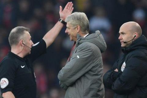 Arsene Wenger gets four match touchline ban and £25,000 fine