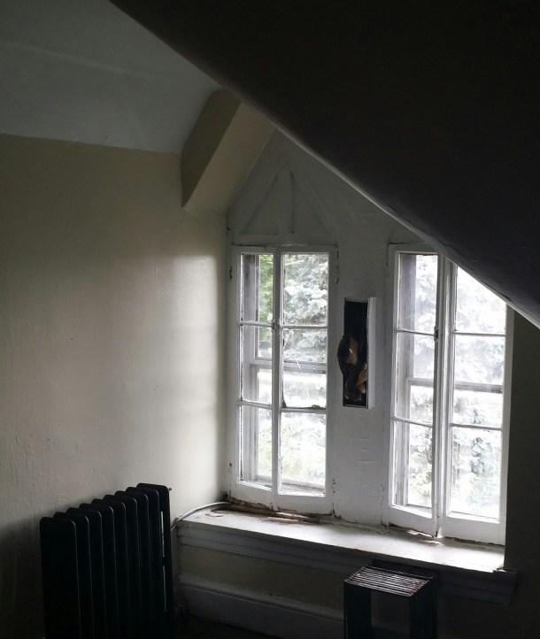 Victorian Attic Window
