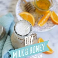DIY Milk and Honey Body Wash: Spa Days at Home