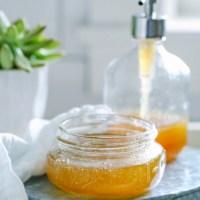 DIY Honey and Aloe Summer Face Wash---Spa Days at Home