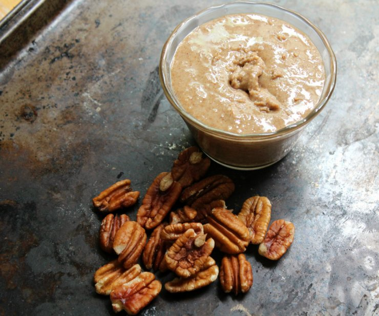 Try This---Homemade Nut Butters (Sweet Vanilla Roasted Pecan Butter and Chocolate Almond Butter)
