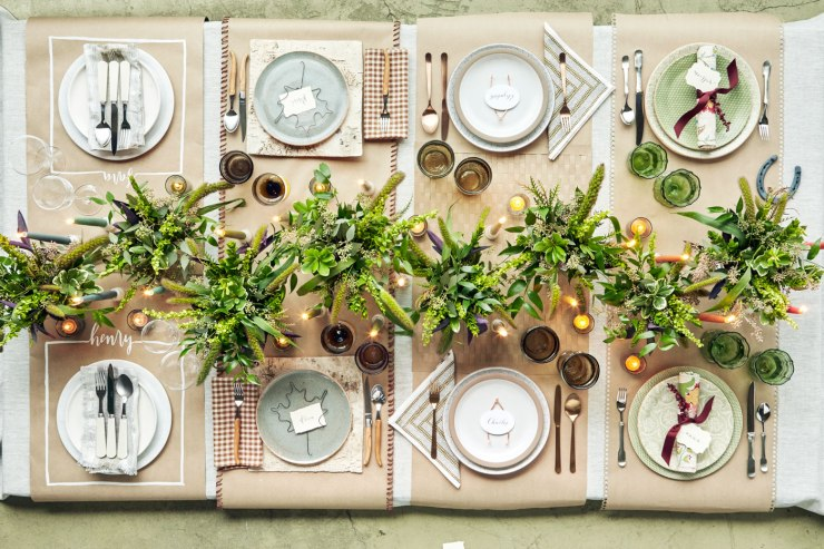 Elegant and Easy Thanksgiving Table Settings