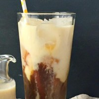 Try This---Banana Milk Coffee (Clean Eating Vegan Treat)